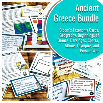 Ancient Greece Bundle: Geography, History, Government, and More