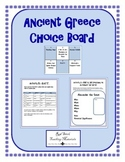 Ancient Greece Choice Board