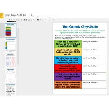 Ancient Greece City-State   Google Drive Version   Distance Learning