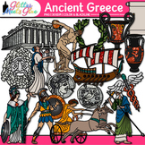 Ancient Greece Clip Art {Civilization and Culture on the Mediterranean Sea}