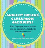 Ancient Greece Classroom Olympics
