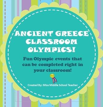 Ancient Greece Classroom Olympics