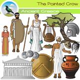 Ancient Greece Clip Art Set