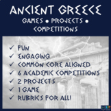 Ancient Greece: Competitions, Projects, and Games!