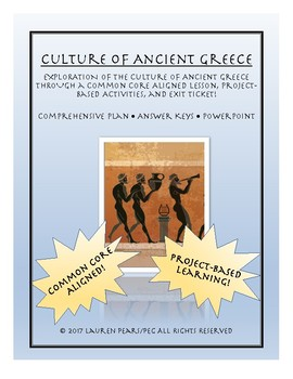 Ancient Greece Culture: Lesson and Projects Pack