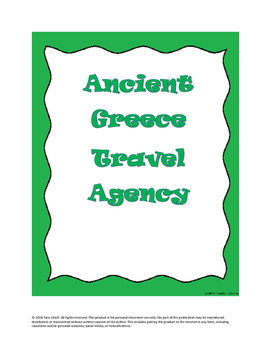 Ancient Greece Culture Travel Agency Project