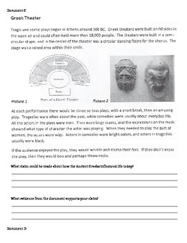 Ancient Greece DBQ