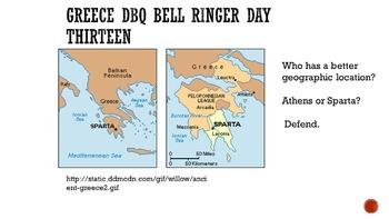 Ancient Greece DBQ Bell Ringers