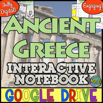 Ancient Greece DIGITAL Notebook! Google Drive Ready Notebook for Ancient Greece!