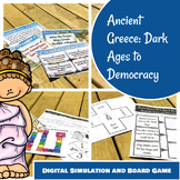 Ancient Greece: Dark Ages to Democracy Digital Simulation and Board Game