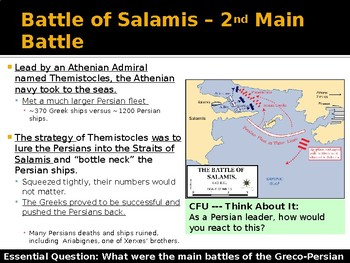 Ancient Greece Day 10 - Greco Persian War