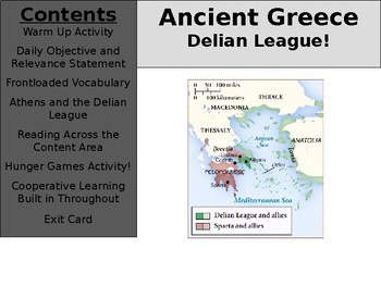 Ancient Greece Day 13 - Delian League