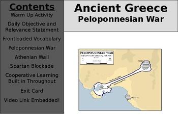 Ancient Greece Day 15 - Peloponnesian War