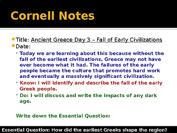 Ancient Greece Day 3 - Fall of the Early Civilizations