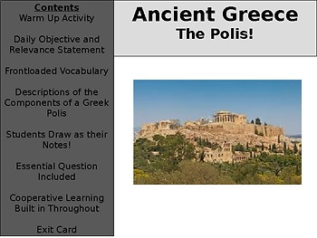Ancient Greece Day 5 - The Polis