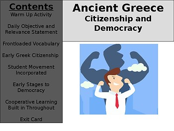 Ancient Greece Day 6 - Early Citizenship and Democracy