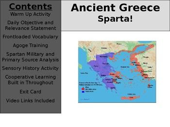 Ancient Greece Day 7 - Sparta