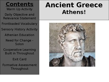 Ancient Greece Day 8 - Athens