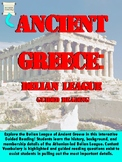 Ancient Greece - Delian League Reading Handout