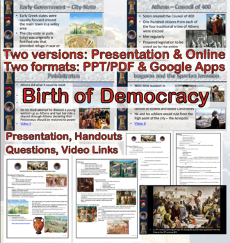 Ancient Greece: Birth of Democracy in Athens