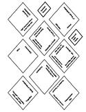 Ancient Greece Diamond Quilt Puzzle & Crossword Puzzle