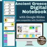 Ancient Greece Digital Interactive Notebook Activities