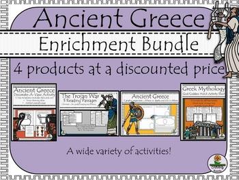 Ancient Greece Enrichment BUNDLE