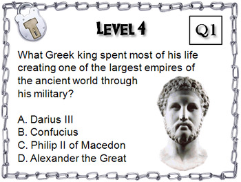 Ancient Greece: Escape Room - Social Studies