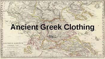 Ancient Greece Fashion Scrapbook
