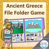 Ancient Greece File Folder Game