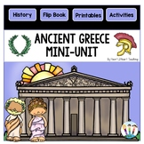 Ancient Greece Activities: A Mini-Unit & Flip Book all about Ancient Greece