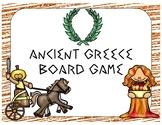 Ancient Greece Game (File Folder Board Game)
