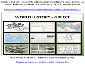 Ancient Greece - Geography