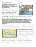 Ancient Greece - Geography Cause and Effect
