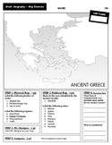 Ancient Greece Geography - Mapping Exercise