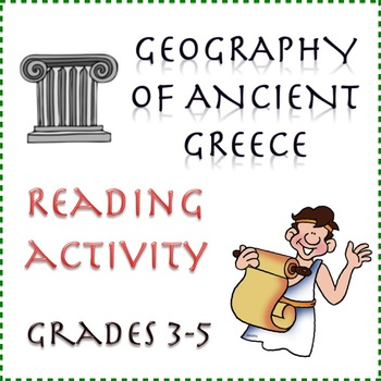 Ancient Greece: Geography - Reading Activity