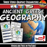 Ancient Greece Geography YouTube Video Graphic Organizer S