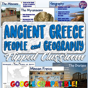 Ancient Greece Geography and Early People PowerPoint