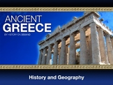 Ancient Greece Geography and History PowerPoint and Guided Outline