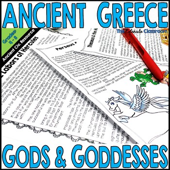 Ancient Greece Gods & Goddesses