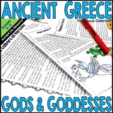 Ancient Greece Gods & Goddesses