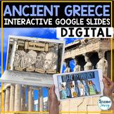 Ancient Greece Google Classroom Distance Learning |  Greece Google Slides