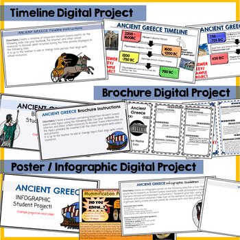 Ancient Greece Google Classroom Projects