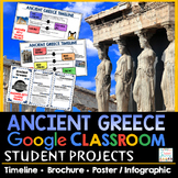 Ancient Greece Projects Google Classroom