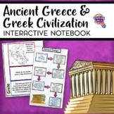 Ancient Greece & Greek Civilization Interactive Notebook Unit 6th Grade INB