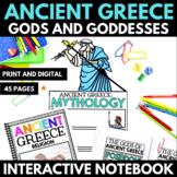Ancient Greece Mythology Unit Greek Gods and Goddesses