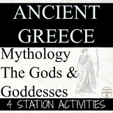 Ancient Greece Mythology Station Activities for Ancient Greece Unit