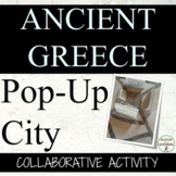 Ancient Greece Pop-up Greek City Activity for Ancient Greece Unit
