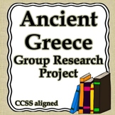Ancient Greece Group Research Project