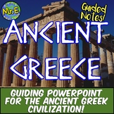 Ancient Greece Notes: Guided Notes and PowerPoint set for Ancient Greece!